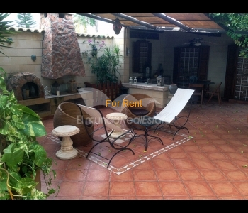 Ground floor house for rent in Ayios Dometios, ID 470